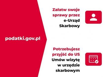 Urząd Skarbowy w Bolesławcu informuje: Wizyta w urzędzie skarbowym tylko po wcześniejszej rezerwacji. Załatw swoje sprawy przez e-Urząd Skarbowy.