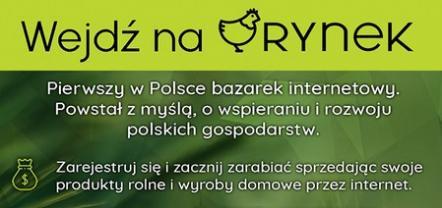 RYNEK – pierwszy w Polsce bazarek internetowy właśnie wystartował!