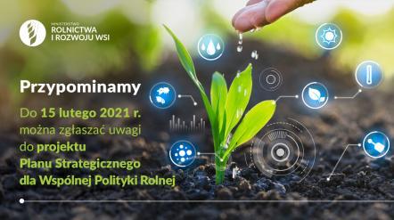 Konsultacje społeczne Planu Strategicznego WPR po 2020 roku