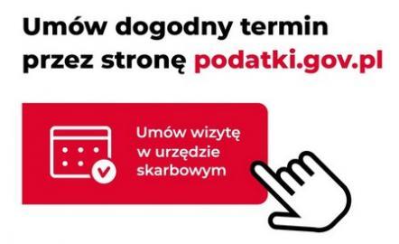 """Informacja Urzędu Skarbowego w Bolesławcu. """"Umów wizytę w urzędzie skarbowym"""""""