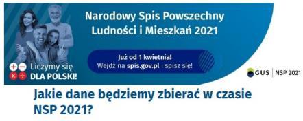 Narodowy Spis Powszechny Ludności i Mieszkań 2021 - Spisz się sam. Informacje dla osób niewidomych i niedowidzących oraz dla mniejszości narodowych i etnicznych
