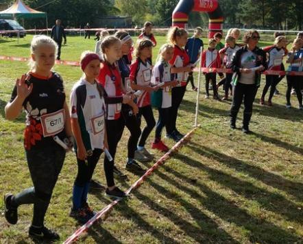 """Cztery  medale młodych """"orientparkowców""""  w  Makroregionalnych Mistrzostw Młodzików w Biegu na Orientację"""