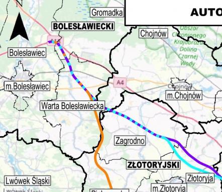 Prośba o wypełnienie Ankiety w sprawie planowanych wariantów przebiegu autostrady A4