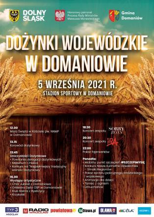 Zapraszamy na Dożynki Wojewódzkie w Domaniowie