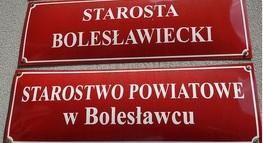 Informacja Starosty Bolesławiekiego