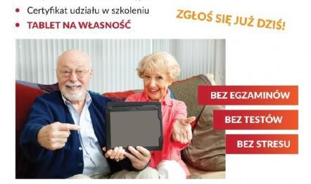 PROJEKT E-SENIOR - darmowe szkolenia komputerowe dla Seniorów 65+