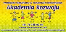 Przedszkole niepubliczne w Tomaszowie Bolesławieckim zaprasza rodziców i dzieci od 2,5 do 6 lat