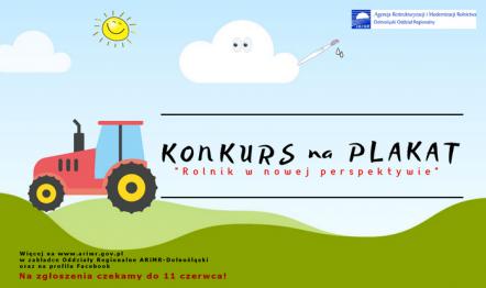 Konkurs dla rolników na plakat