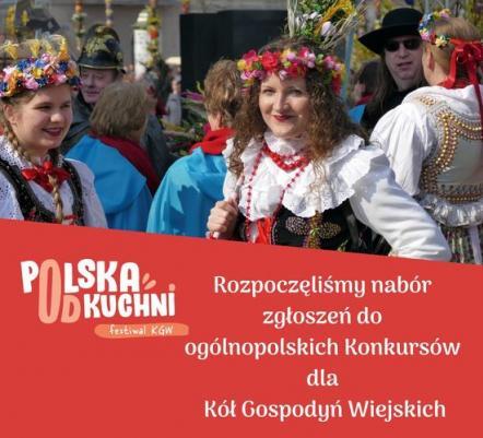 Ruszyły zapisy do ogólnopolskich konkursów dla Kół Gospodyń Wiejskich